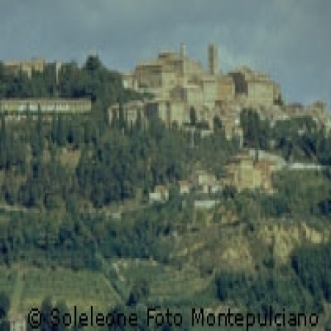 A view of Montepulciano Italy