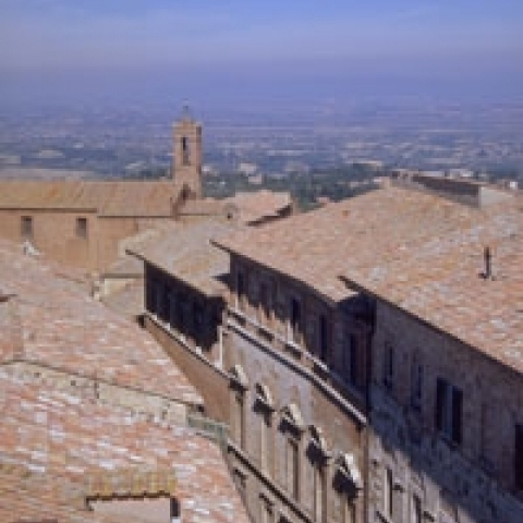 A glimpse of Montepulciano Italy