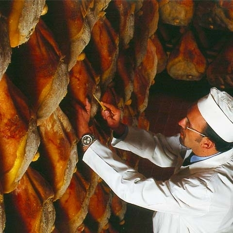 Parma Ham Cured Inspection