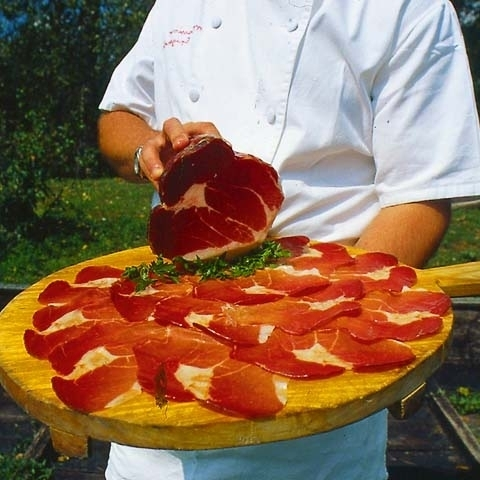Coppa Cured Meat Dish Parma Italy