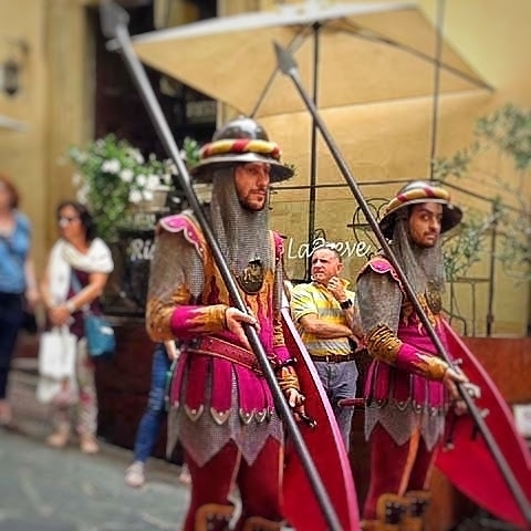 Arezzo Medieval Festival Soldiers