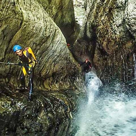 Lucca Sourrandings Canyoning Active Sports
