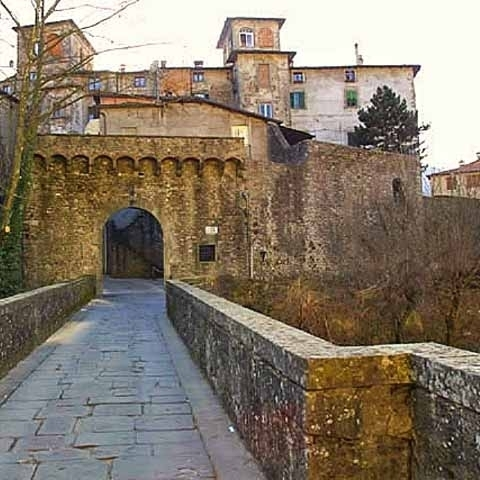 Lucca city walls Gate Medieval
