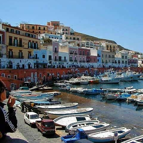 Ponza Fisherman Port