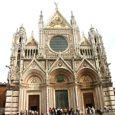 Siena Facade Gothic Cathedral