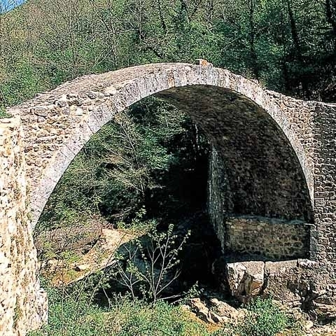 Roman Bridge near Siena