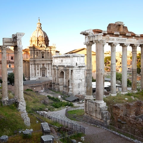 Imperial Fora Rome Ruins