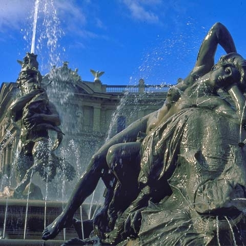 Exedra Fountain at Republic Square Rome