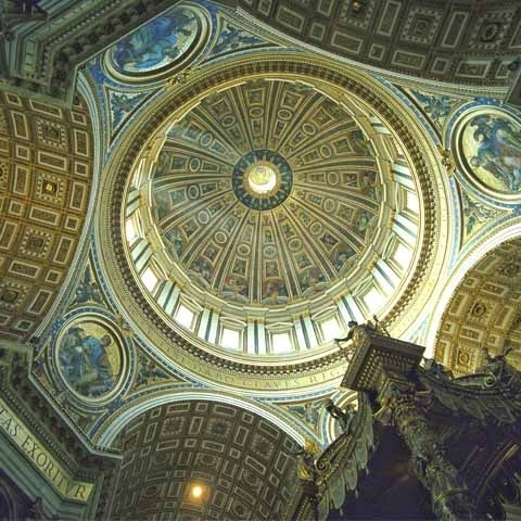 Dome by Michelangelo Vatican City Rome Italy