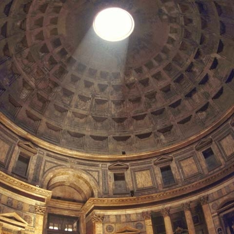 Pantheon Inside sealing Rome