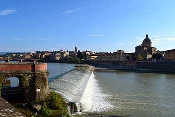 Florence Geography & Climate | Longarno River
