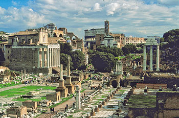 Rome & The Ancient History of The City in Lazio Italy