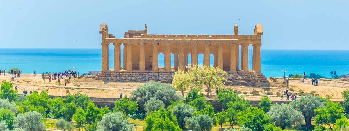 Agrigento Sicily Valley of The Temples
