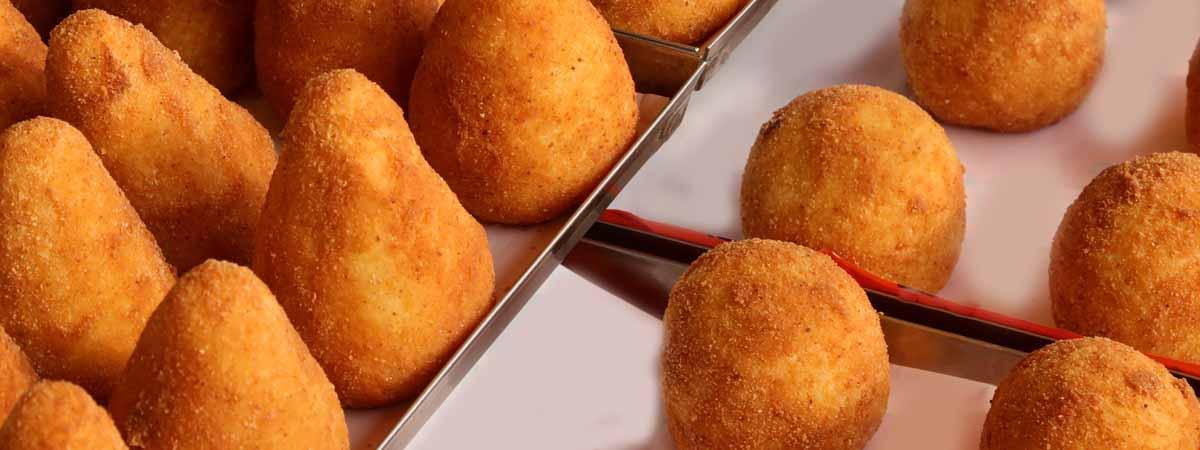 Sicily Food Arancini dish