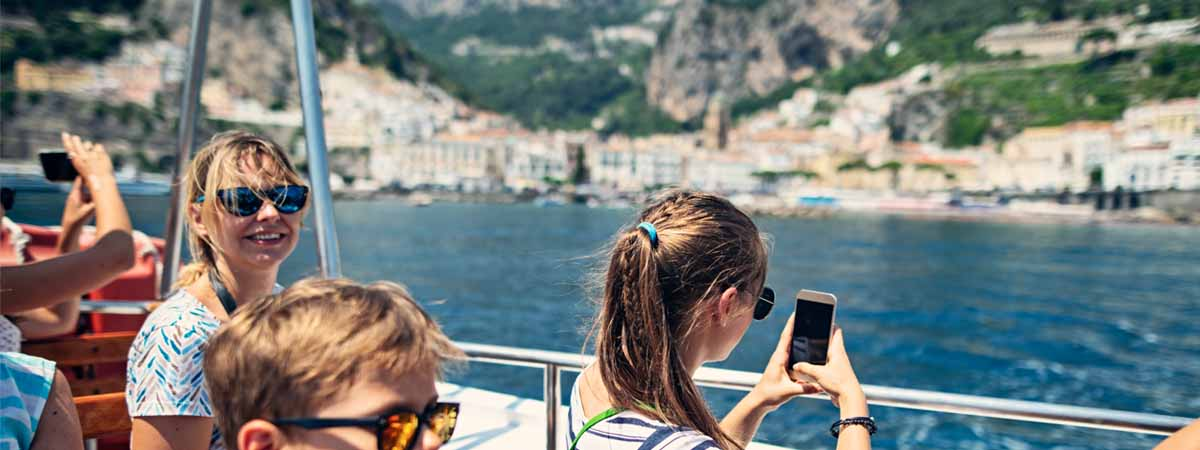 Amalfi Coast Family Tour by Boat