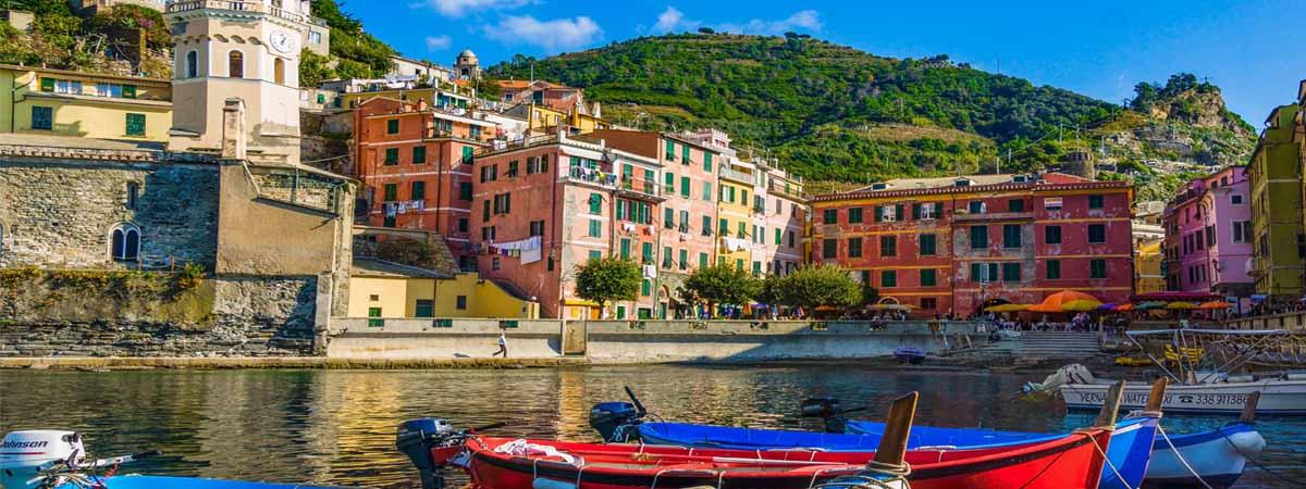 Vernazza Cinque Terre Liguria Italian Riviera