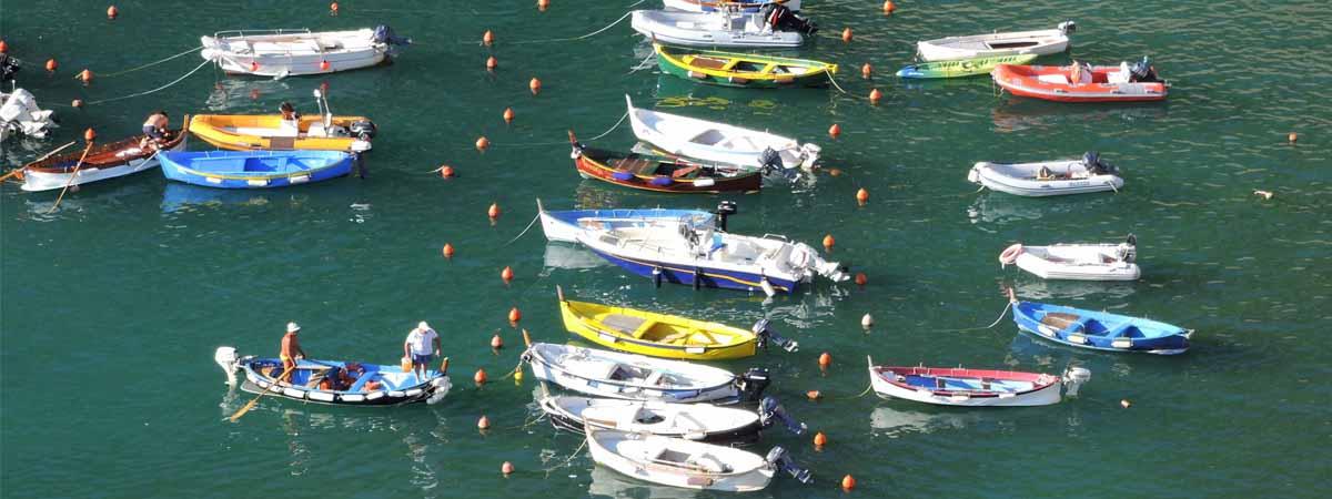 Liguria Cinque Terre Vernazza Dock View