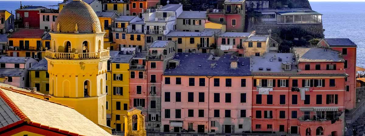 Liguria Cinque Terre Unesco Site Vernazza