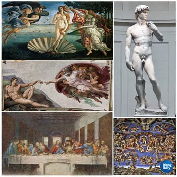 Italian Masterpieces In Museums In Italy