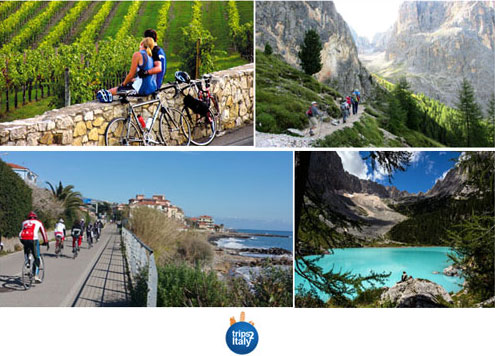 Hiking & Biking Around Italy