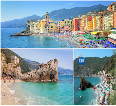 Beaches Of The Italian Riviera