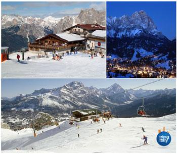 Skiing In Veneto Italy