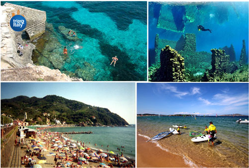 Swimming, Diving & Snorkel in Italy