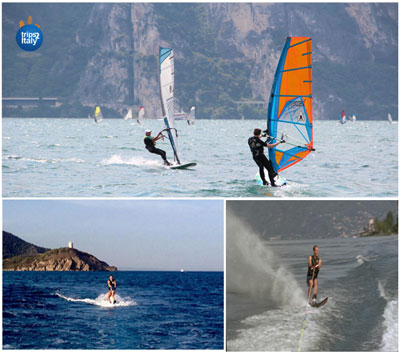 Wind Surfing & Water Skiing In Italy