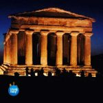 Temple In Agrigento Sicily