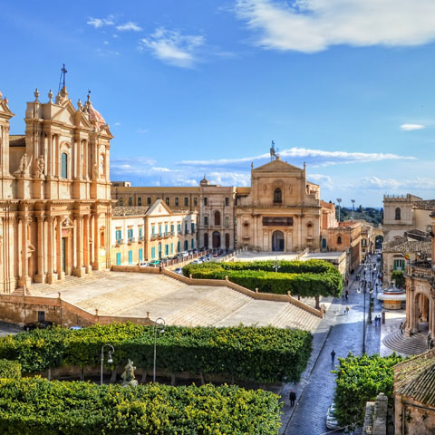 Bessie & Andrew G. – Sicily Private Group Tour