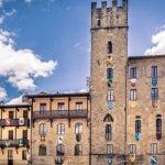 _Tuscany_Arezzo_Piazza_Grande_Building_Particular