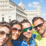 Tuscany_Pisa_Friends_Family_Selfie_Photo_Group_Leaning_Tower