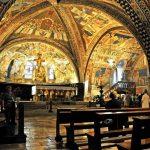 Umbria_Assisi_Interiors_Saint_Francis_Basilica_View