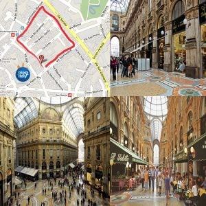 Quadrilatero d'Oro Milan Italy
