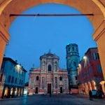 Emilia_Romagna_Reggio_Emilia_San_Prospero_Church_at_Night