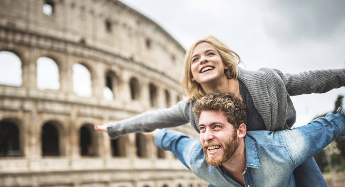 Eternal Rome Italy Honeymoon Package