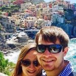 Liguria Cinque Terre Manarola Couple