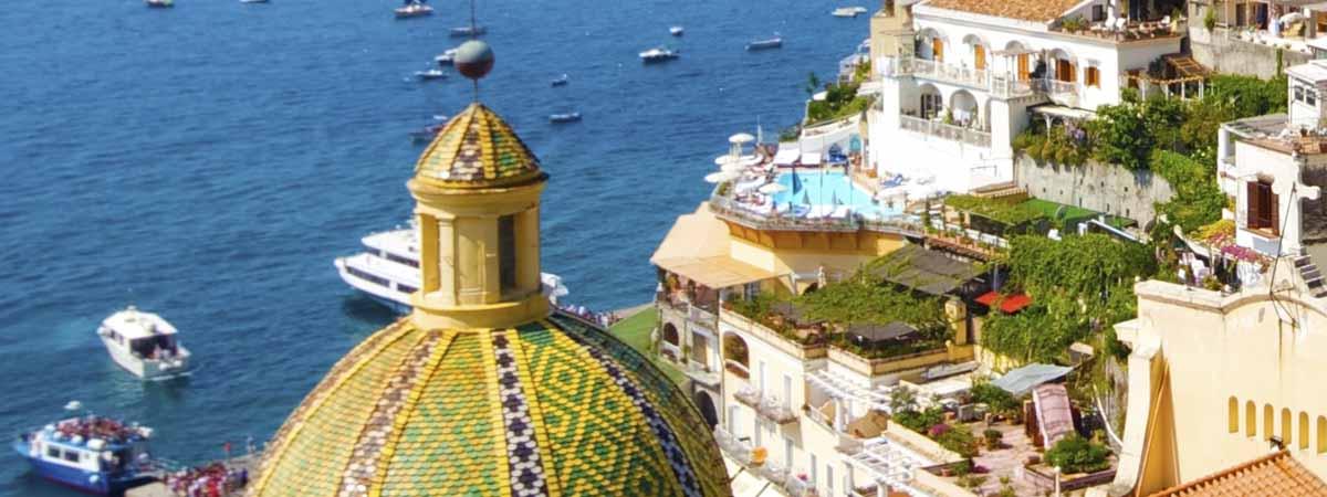 Positano Amalfi Coast Panoramic View