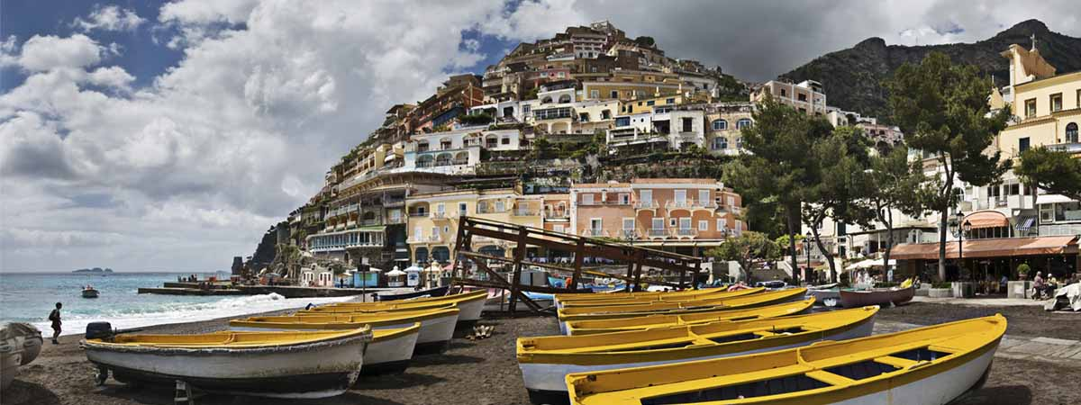 Rome, Pompeii, Amalfi Coast, and Capri Group Escorted Tour 8 Days  2020 – 2021