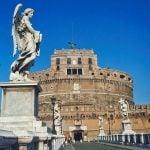_Lazio_Rome_Castel_Sant_Angelo_Bernini_Angel_Bridge