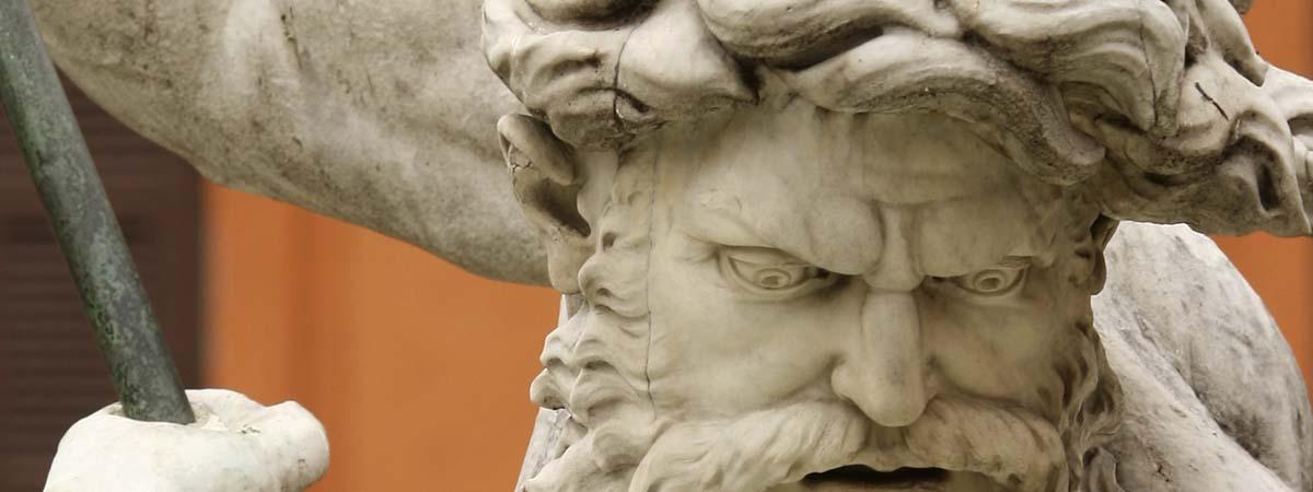 Piazza Navona Rome Bernini Fountain Neptune Statue