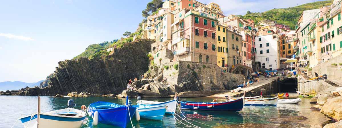Cinque Terre Liguria Riomaggiore Sea Dock