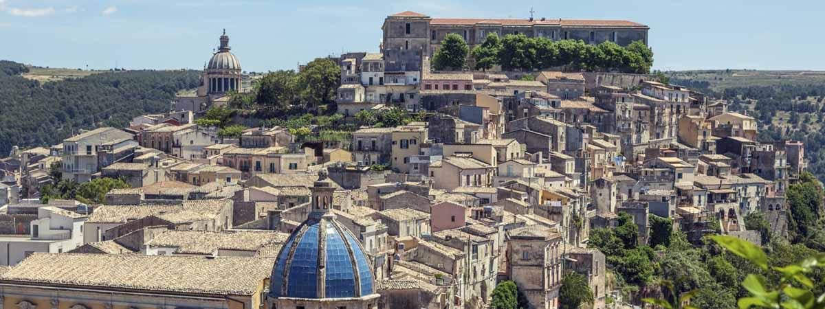 Ragusa Ibla Sicily San George Cupola View