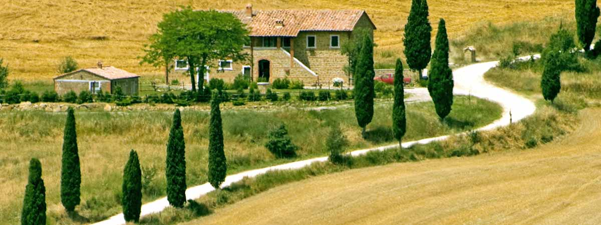 Val D Orcia Tuscany Country Side