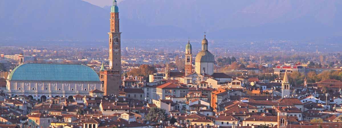 Vicenza Veneto City Panoramic View