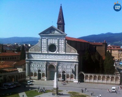 Italy Culture Travel Guide for Architecture and Art | Santa Maria Novella Church in Florence | Trips2Italy
