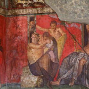 Pompeii Villa Particular Frescoes