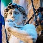 Florence David Of Michelangelo Statue