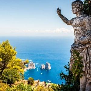 Capri Panoramic View Faraglioni