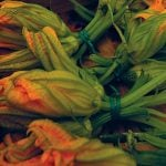 Rome Food Squash Flowers Dish Typical